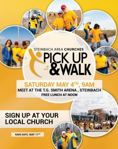 Pick Up and Walk Community Wide Clean-Up