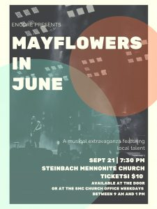 Mayflowers in June Concert @ Steinbach Mennonite Church